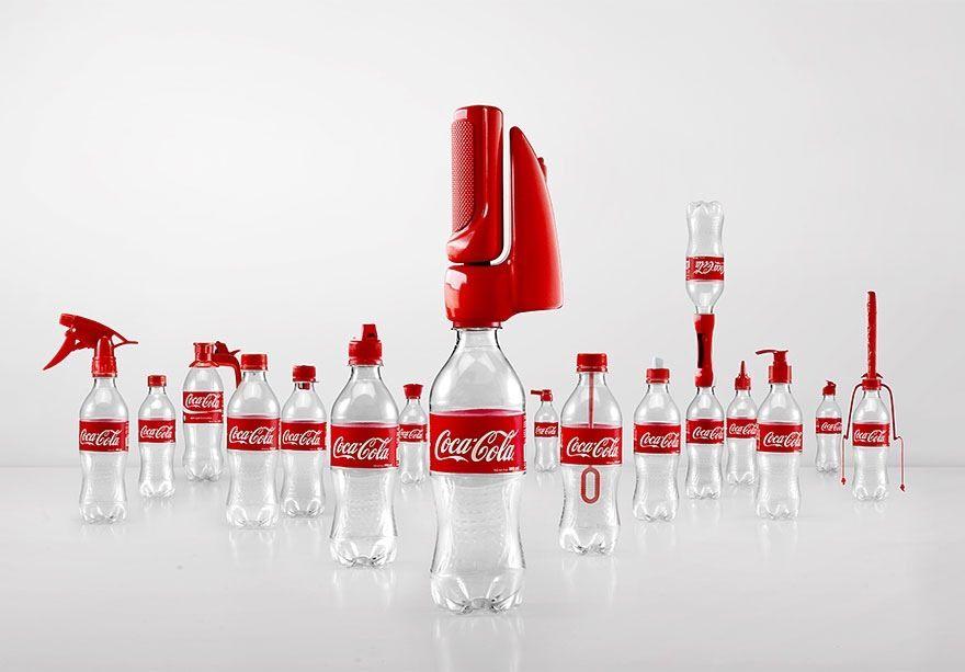Coca-Cola inventa 16 nuovi tappi di bottiglia per riutilizzare le bottiglie vuote