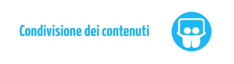 condivisione contenuti video