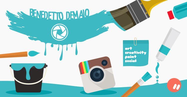 Benedetto Demaio: quando Instagram e arte diventano un'unica cosa