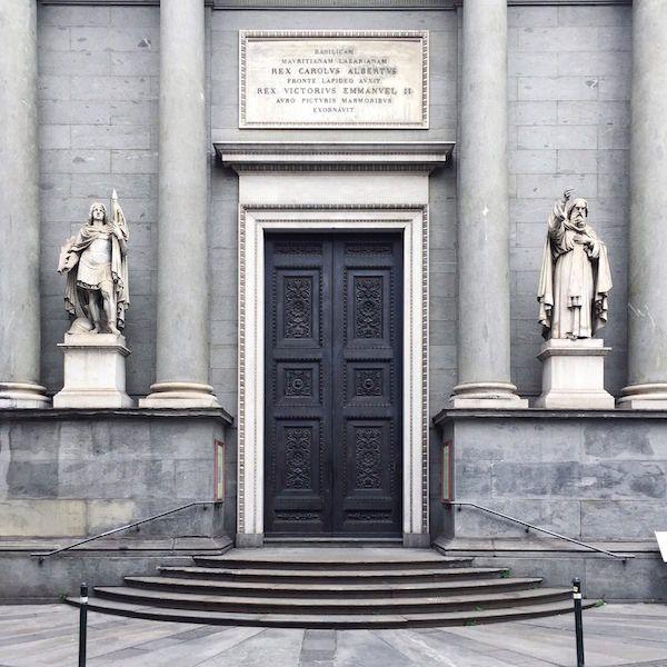 Turin facades