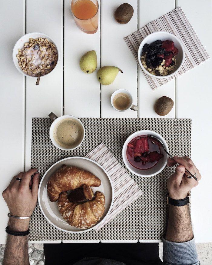 Breakfast in Fossa Mala