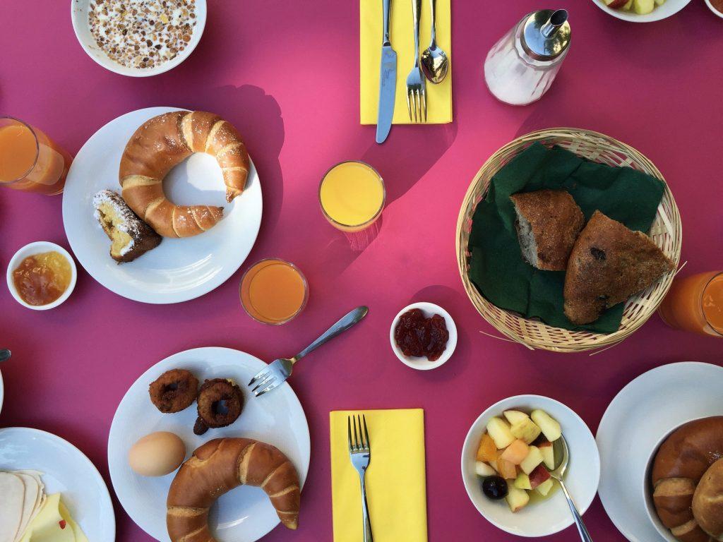 Breakfast in Vienna