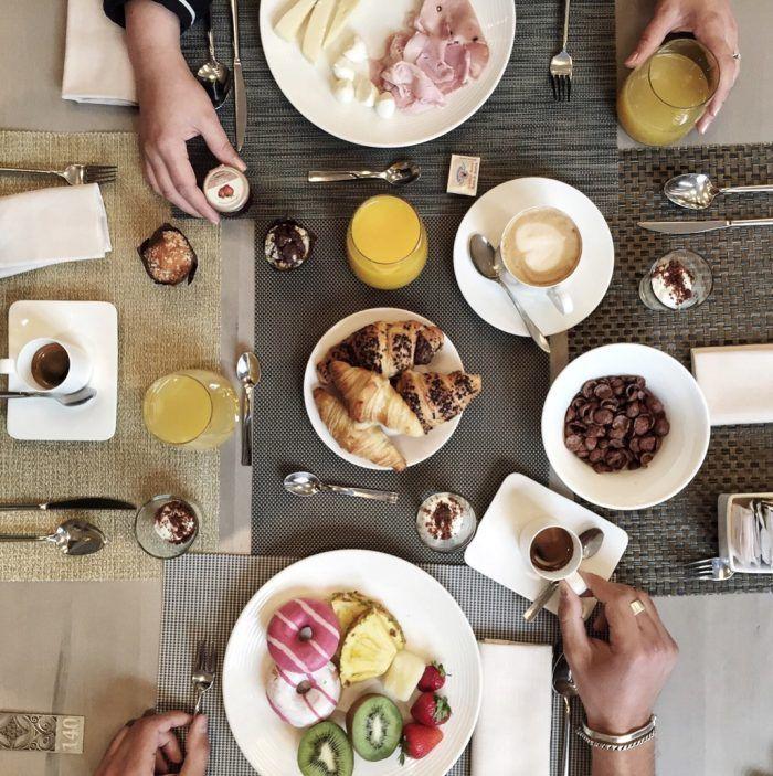 Breakfast in Palazzo Victoria