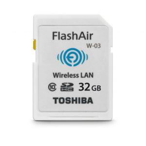 Toshiba SD Wi-Fi da 32GB