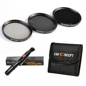 Filtri ND per Canon, più penna o panno per la pulizia