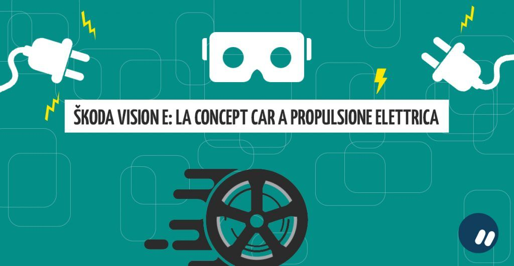 ŠKODA VISION E: la prima concept car elettrica presentata al salone di Shangai