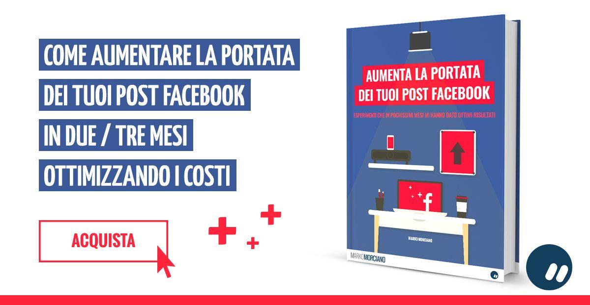 Come aumentare portata organica post Facebook