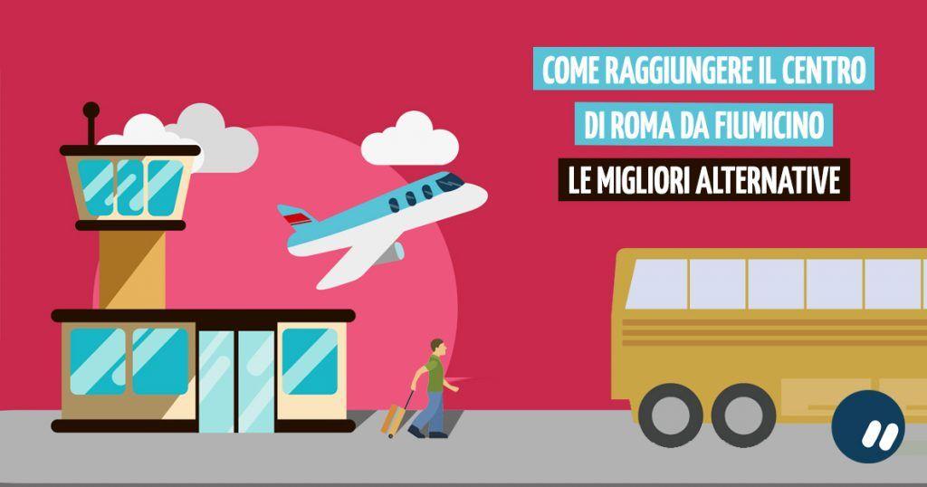 Come raggiungere il centro di Roma da Fiumicino aeroporto