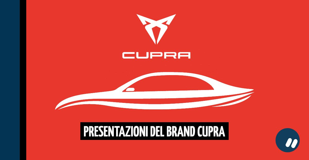 Presentazione di CUPRA e dei nuovi modelli di auto