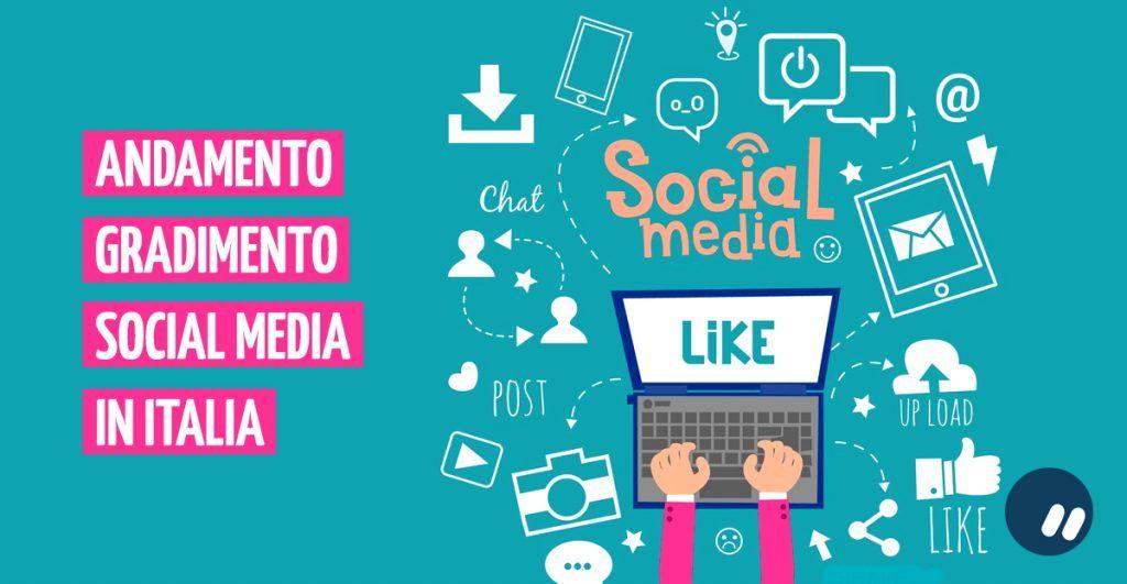 La classifica di gradimento dei social media in Italia | Infografica