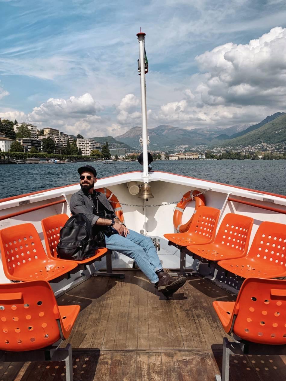Battello Lago di Lugano