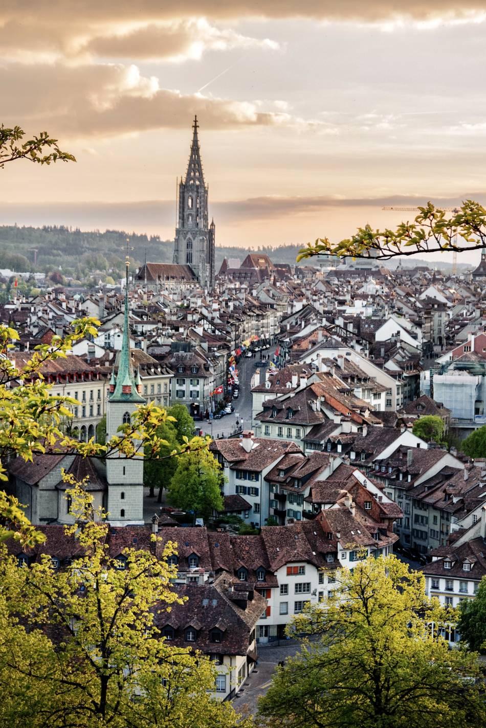 Berna dall'alto