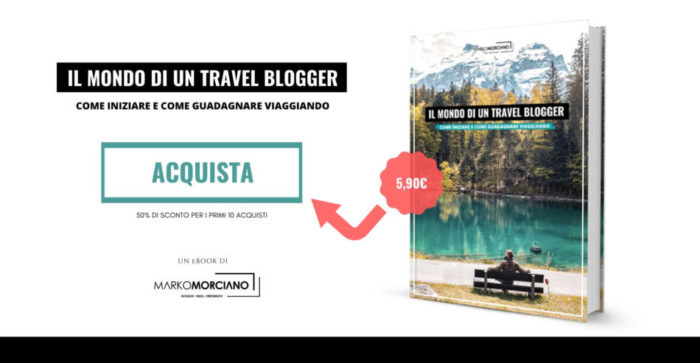 Come diventare travel blogger - eBook