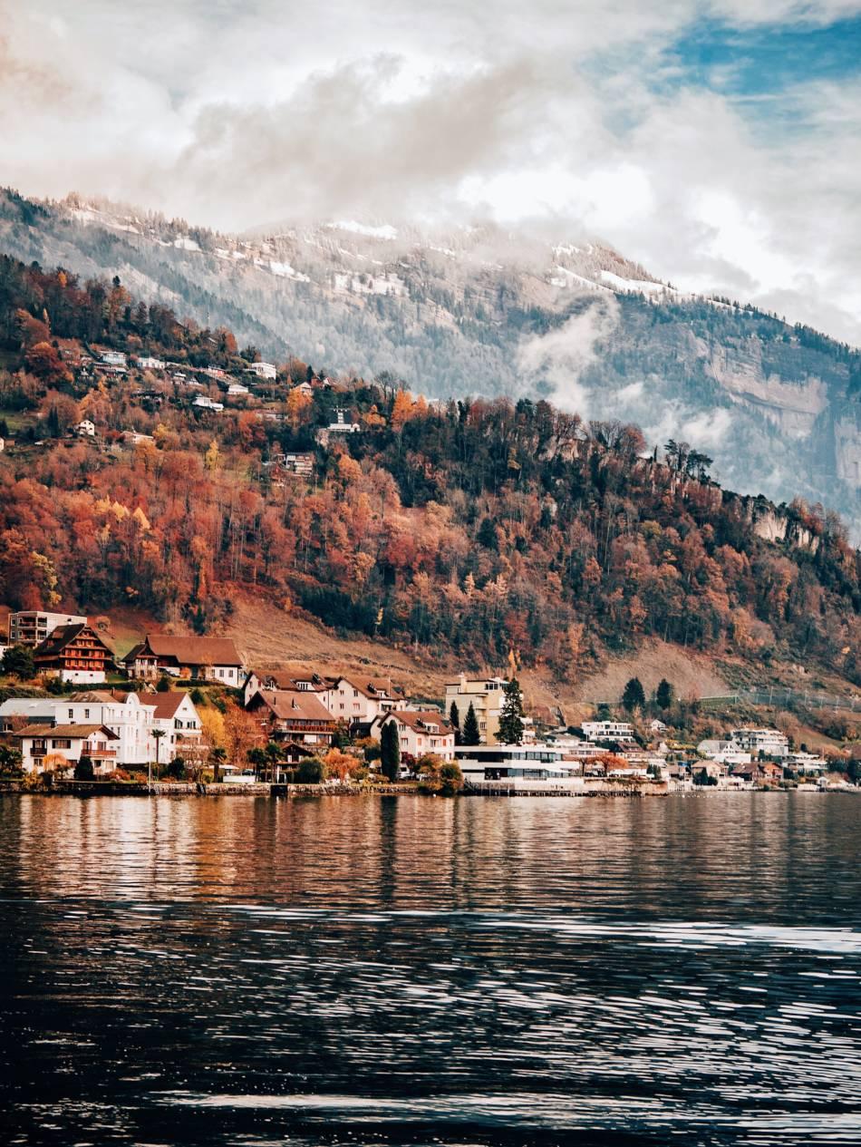 Lago dei quattro cantoni - Lucerna
