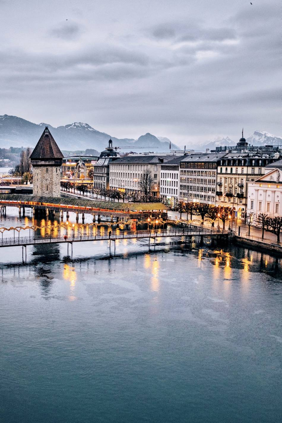 Ponte della cappella - Lucerna