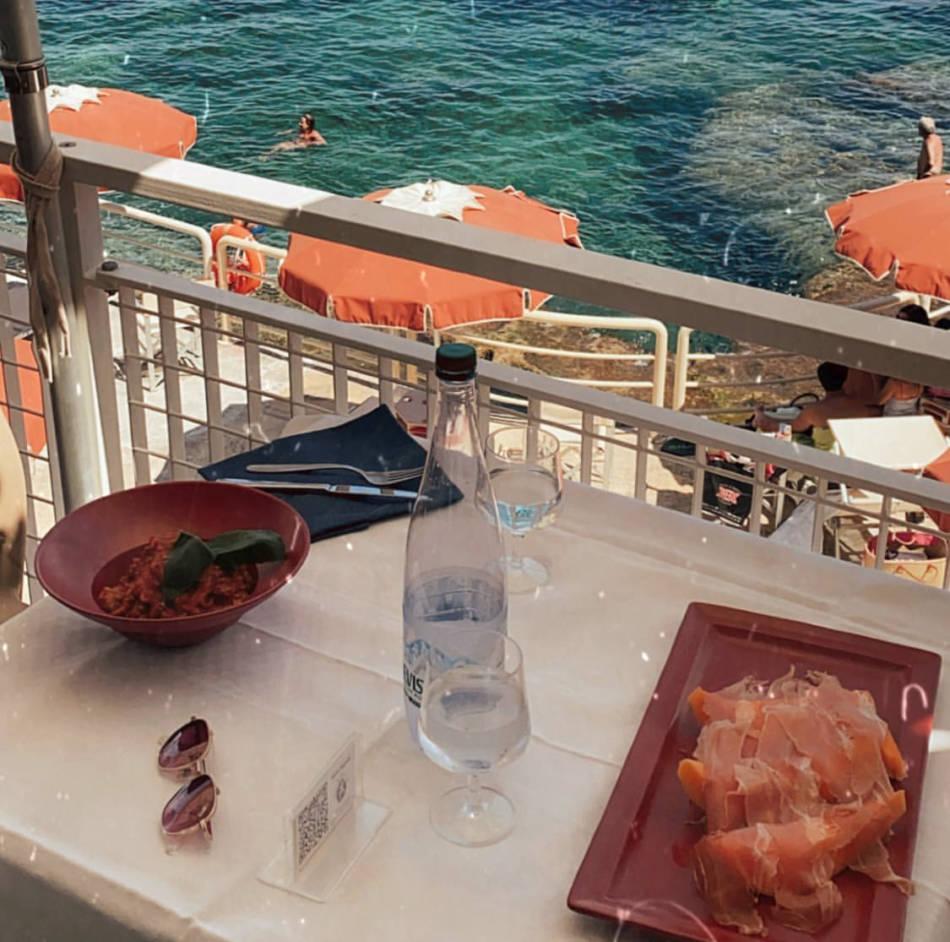 bagno marino archi ristorante - santa cesarea terme